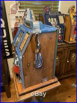 Mills 5 Cent Castle Front Slot Machine