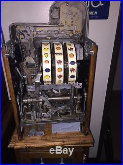 Mills 5 Cent DIAMOND FRONT RESTORED