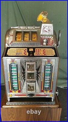 Mills 5 Cent Slot Machine Sharp