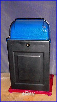 Mills 5-cent 7-7-7 hi-top antique slot machine, 194
