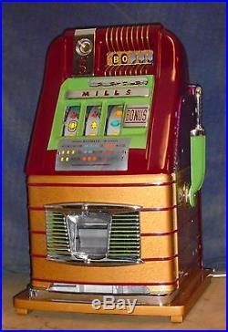 Mercury slot machine