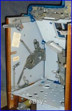 Mills 5-cent HAND-LOAD JACKPOT CASTLE FRONT antique slot machine, 1938