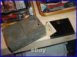 Mills 5-cent Qt Firebird Slot Machine Original Locks & Restored Nice