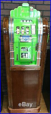 Mills 50c Vintage Extraordinaire Slot Machine, Recently Serviced