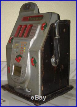 Mills 5c BLACK CHERRY Antique Slot Machine