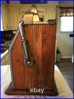 Mills 5c BLACK CHERRY antique slot machine Works! PICK UP ONLY