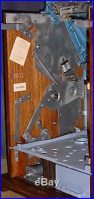 Mills 5c BURSTIN CHERRY antique slot, ca. 1937, rare 3-10 payout