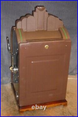 Mills 5c EXTRAORDINARY antique slot machine from ORIGINAL SOUTHPORT CLUB, 1932