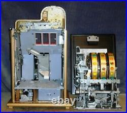 Mills 5c GOLDEN FALLS antique slot machine, ca 1946