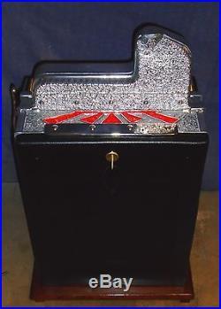 Mills 5c MYSTERY WAR EAGLE antique slot machine, 1931