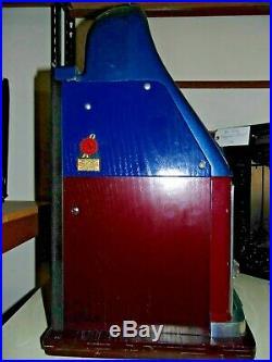 Mills 7-7-7 25 Cent Slot Machine