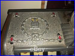 Mills Aluminum Cok 5 Cent Slot Machine Incredible Original