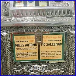Mills Antique Slot Machine