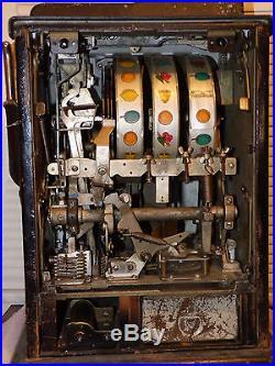 Mills Black Cherry Antique Slot Machine