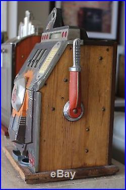 Mills Bursting Cherry Slot Machine 5 Cent Model