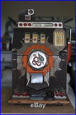 Mills 5 cent bursting cherry slot machine www.pogo.com/sign in