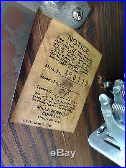Mills CHERRY 5 Five Cent Slot Machine Antique Nickel Slot machine