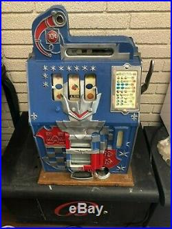 Mills Castle Front 10 Cent Slot Machine Restored