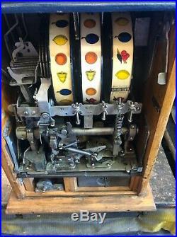 Mills Castle Front 25 Cent Slot Machine Unrestored Incredible Original