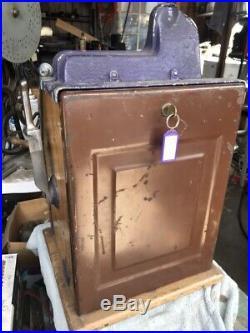Mills Castle Front 5 Cent Slot Machine Unrestored Works Great