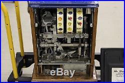 Mills Castle Front Antique Slot Machine 25 Cents (1920s-1930s)