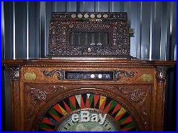Mills Chicago 1907 Upright Slot Machine