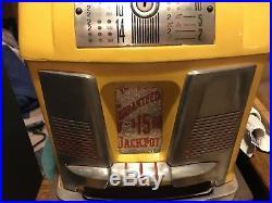 Mills Deuces Wild 10 Cent Hi-top Antique Slot Machine Coin Op Restored Look