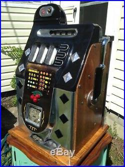 Mills Diamond Front Slot Machine