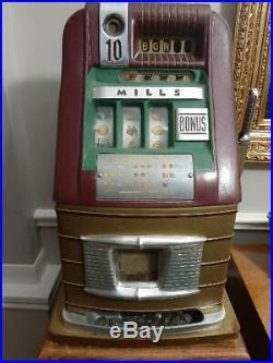 Mills Dime high-top Bonus slot machine