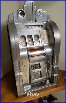 Mills Extraordinary 5 Cent Coin Slot Machine