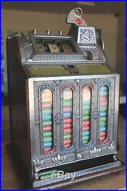 Mills Fok Mystic Vendor 10 Cent Slot Machine Must Read