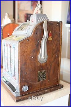 Mills FOK Mystic Vendor 10 Cent Slot Machine (Must Read) Antique