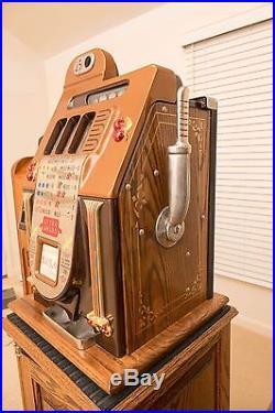 Mills Golden Falls Quarter Slot Machine-in Excellent Condition