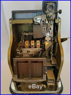 Mills Hash mark QT Slot Machine 25 Cent Mills Keys