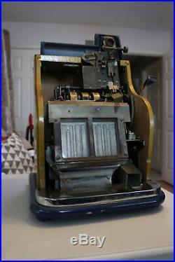 Mills Hash mark QT Slot Machine 5 Cent Mills Keys