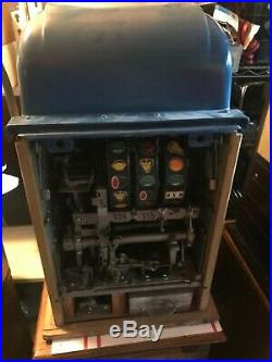 Mills High Top 10 Cent Silver Slipper Casino Coin Op Slot Machine