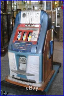 Mills High Top 5 Cent Slot Machine Blue Bell
