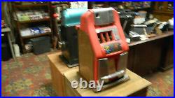 Mills High Top Slot Machines 2 Machines 1 Nickle And 1 Dime Game Room Fun