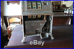 Mills Liberty Bell antique slot machine caille watling fey operators bell