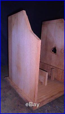 Mills NEW solid oak FOK antique slot machine cabinet