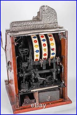 Mills Novelty Co. 5 Cent Slot Machine, Original Condition, ex-Museum
