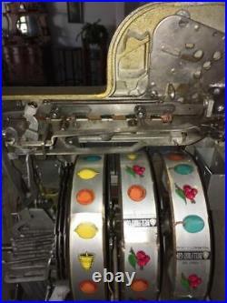 Mills One Cent Golden Falls Slot Machine