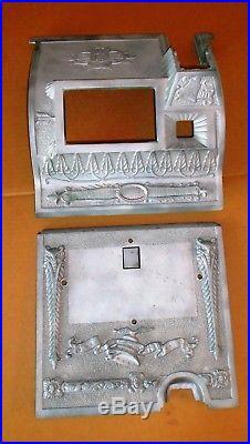 Mills POINSETTIA gooseneck mid-1920's antique slot machine castings
