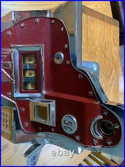 Mills QT Firebird Slot Machine 1934 Very Nice 5 cent