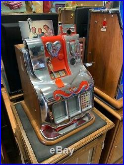 Mills QT Sweetheart Slot Machine 5 Cent Very Rare Great Condition With Keys Works