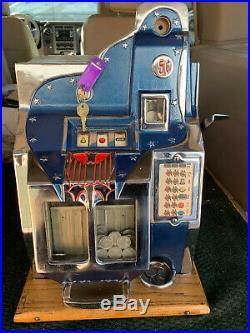 Mills QT slot machine 1935 21Star First year of QT