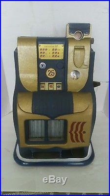 Mills Qt 25 Cent Slot machine