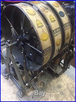 Mills / Rockola 5 cent gooseneck slot machine all original