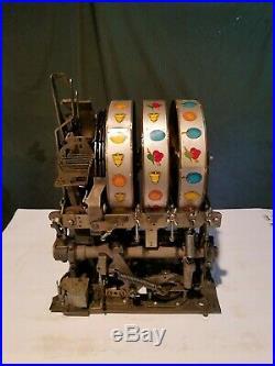 Mills Slot Machine 5 Cent Mechanism