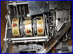 Mills Slot Machine Q T Smoker Model 5 Cent Circa 1934-37